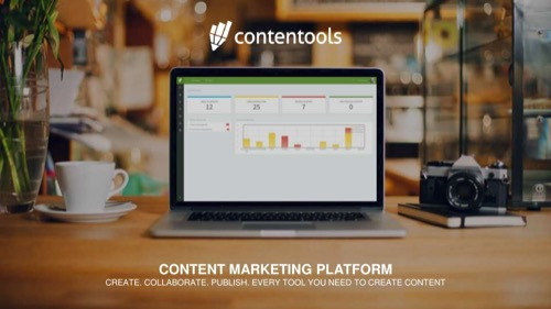 Contentools Seed pitch deck