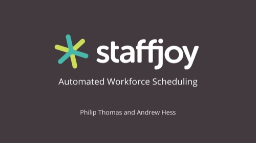 Staffjoy Seed pitch deck